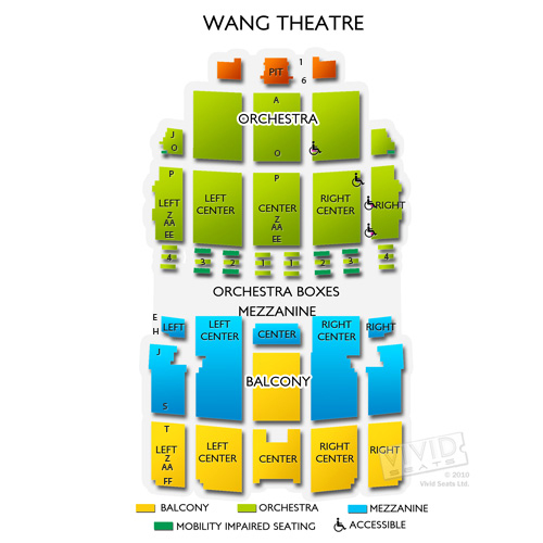 Wang Theatre Seating A Guide for the Boston Landmark Vivid Seats
