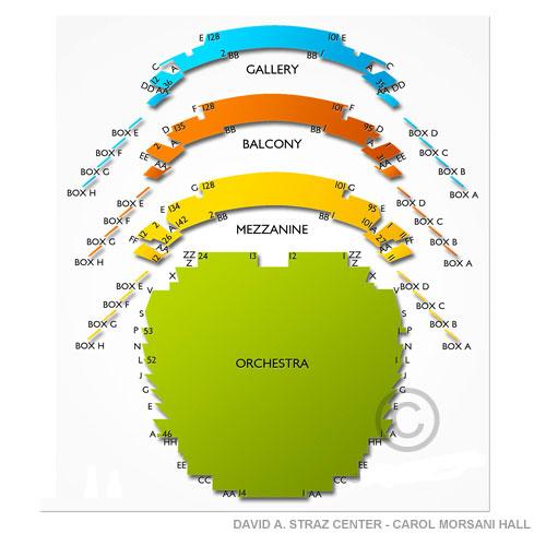 Straz Center Seating Chart Carol Morsani Hall Awesome Home