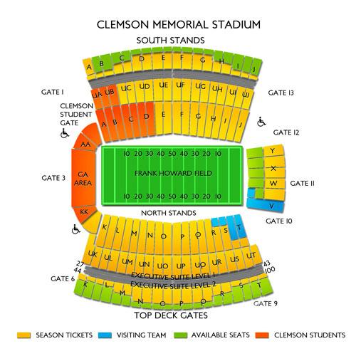 Clemson vs Georgia Tech Football Tickets - 8/29/19 Vivid Seats
