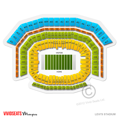 Levi\u0027s Stadium Concerts Showcase Major Acts Vivid Seats