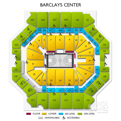 Barclays Center Concerts A Seating Guide for Live Music at the - a seating