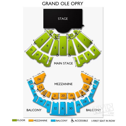 Grand Ole Opry A Seating Guide to Nashville\u0027s Most Famous - a seating