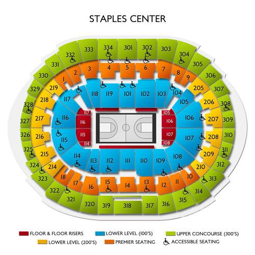 Lakers vs Jazz Tickets - 4/7/19 Staples Center