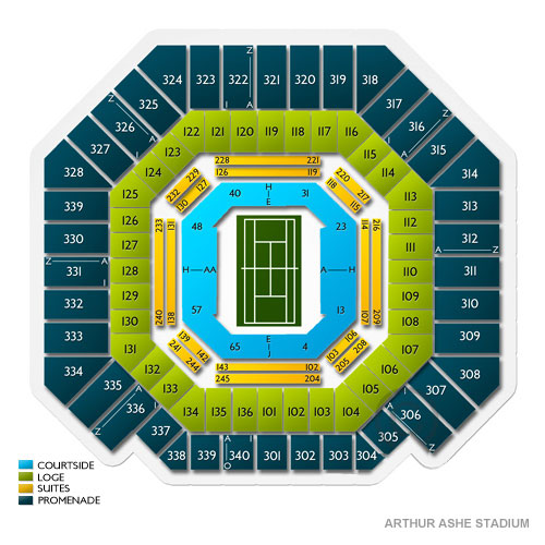 US Open Tennis Flushing Tickets - 8/26/2019 Vivid Seats