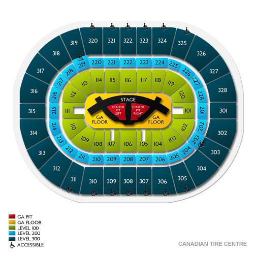 Carrie Underwood Ottawa Tickets - 6/10/2019 Vivid Seats