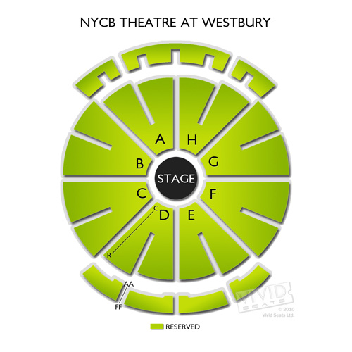 Nycb Theater Seating Chart Elcho Table