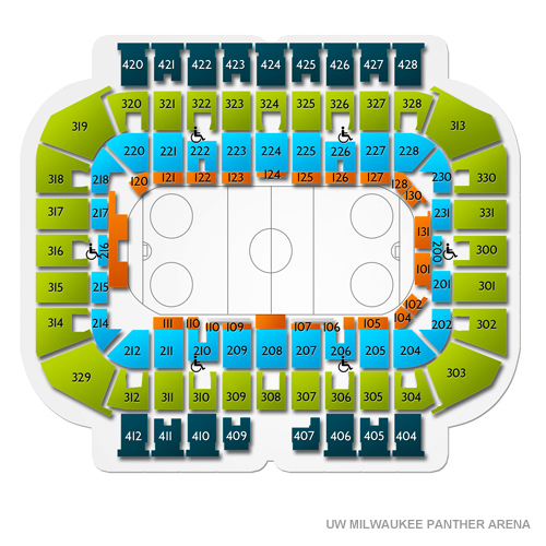 Grand Rapids Griffins at Milwaukee Admirals Tickets - 4/13/2019 600
