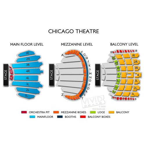 Chicago Theatre Seating Guide and Events Schedule Vivid Seats