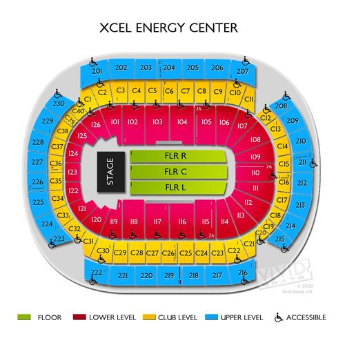 Rod Stewart Saint Paul Tickets - 8/15/18 Xcel Energy Center