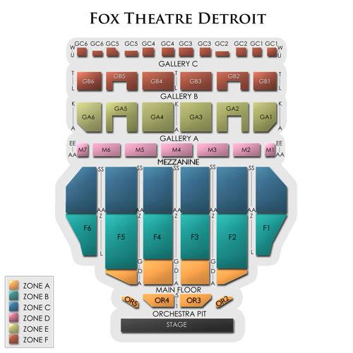 Alabama (Rescheduled from 1/10) Detroit Tickets - 9/13/2019 Vivid