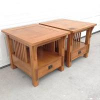 "Solid Maple Mission Style Coffee Table by ""Bassett"