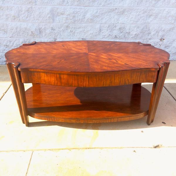 Unique Art Deco Style Coffee Table