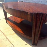 Unique Art Deco Style Coffee Table
