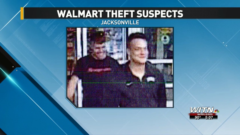 WHO AM I? Police need help identifying suspected Walmart thieves