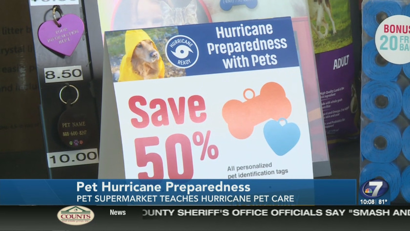 Pet Supermarket hosts pet hurricane preparedness event