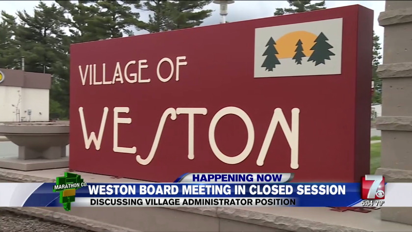 Village of Weston Board holds second closed-session meeting over