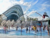 Gardens By The Bay Water Play Area | FEO Childrens Garden ...
