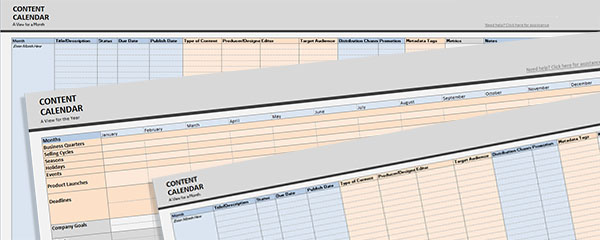 The Importance of Your Site\u0027s Editorial Calendar - PandoLogic