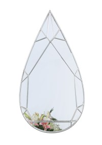 Teardrop Diamond Mirror  Looking Mirror By The Lohasmith ...