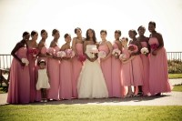 Pink Bridal Party Photography: Jay Lawrence Goldman ...
