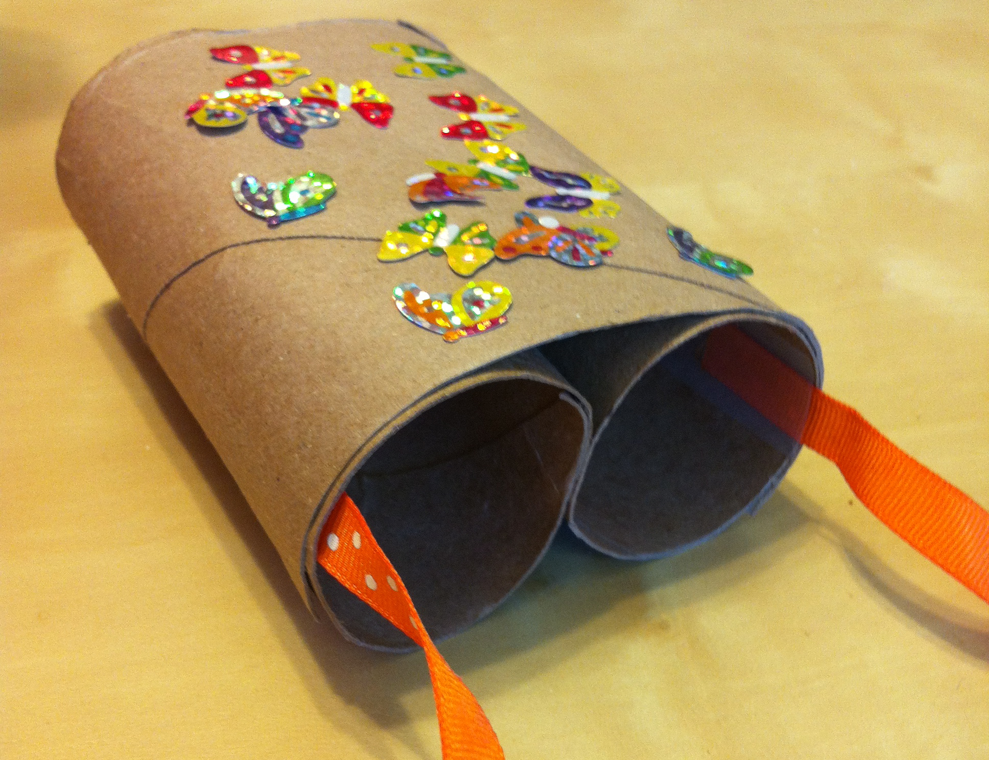 Diy Arts And Crafts Toilet Paper Roll Binoculars