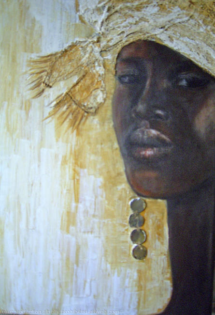 Prints Of Paintings On Canvas Woman By Mo Welch
