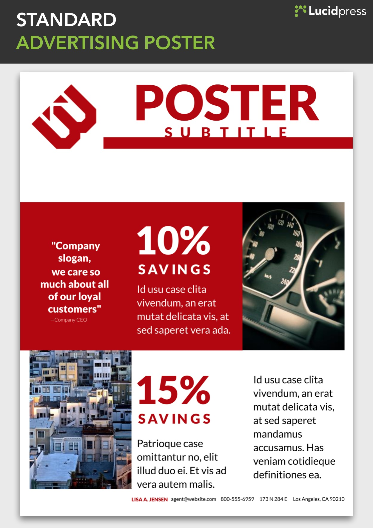 School Project Poster Design Ideas 18 Cool Creative Poster Ideas Lucidpress