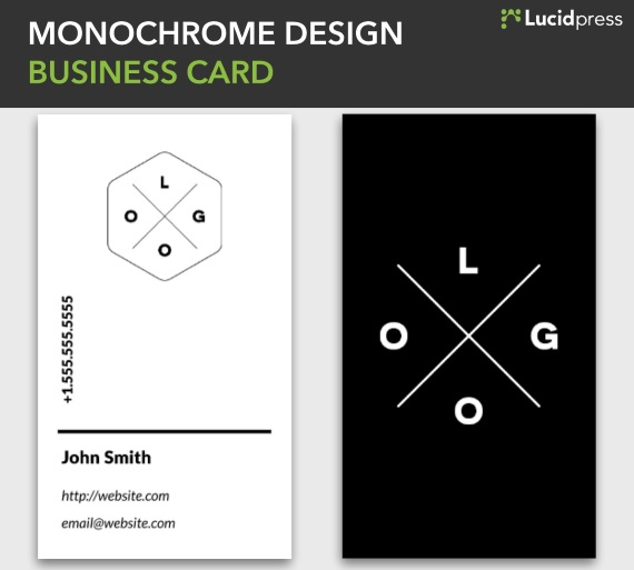 30 Creative Business Card Ideas  Designs Lucidpress - vertical designs