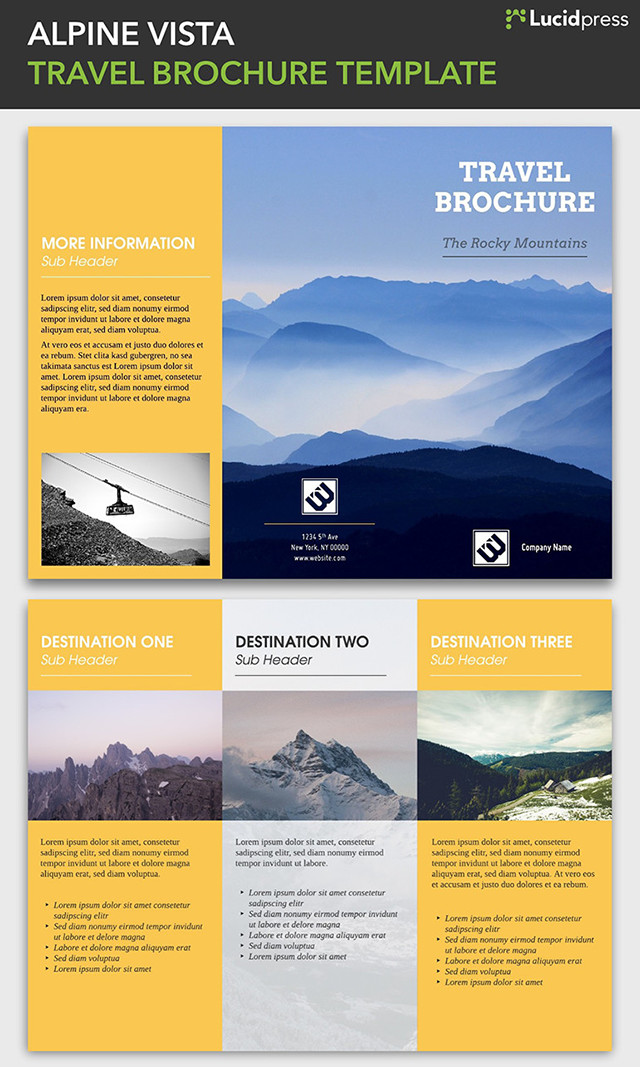 21 Creative Brochure Cover Design Ideas for Your Inspiration