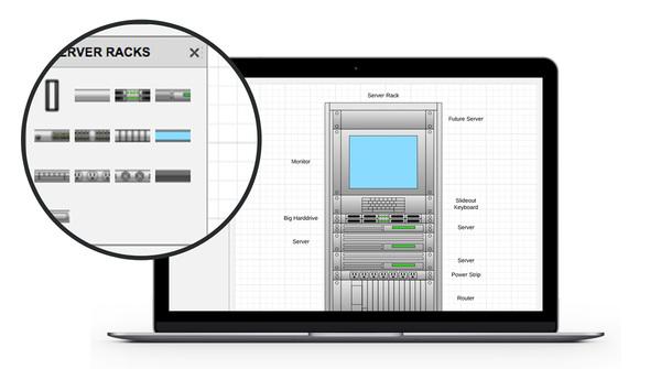 Rack Diagram Software Lucidchart