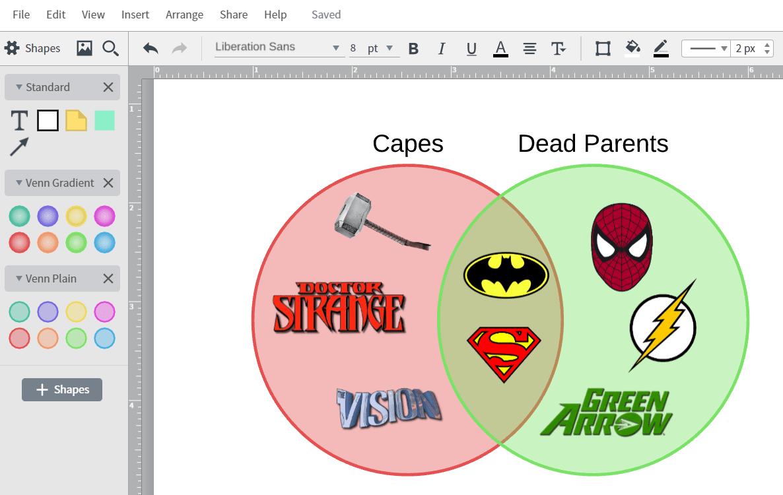 how to create venn diagram in powerpoint