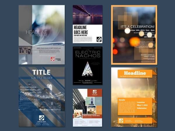Flyer Maker - Design Flyers Online 17 Free Templates - free flayer design