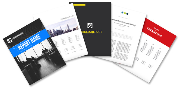 Best Annual Report Design Lucidpress - reports designs
