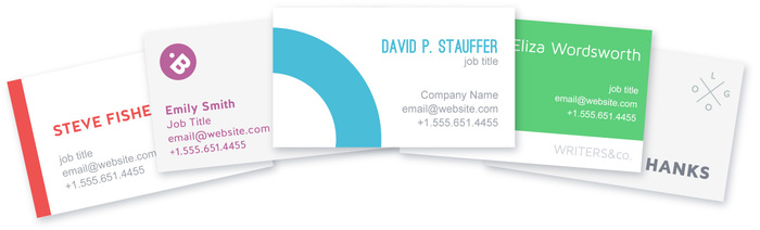 Free Business Card Maker Online  Business Card Design