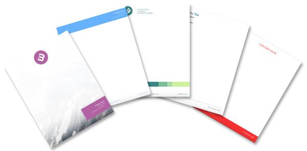 Letterhead Maker - Design Letterheads Online 7 Free Templates - Free Letterhead Samples