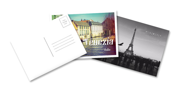 Custom Postcard Printing Online Lucidpress - paper direct templates