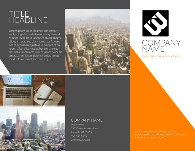 sample brochure layouts - Acurlunamedia - sample broucher