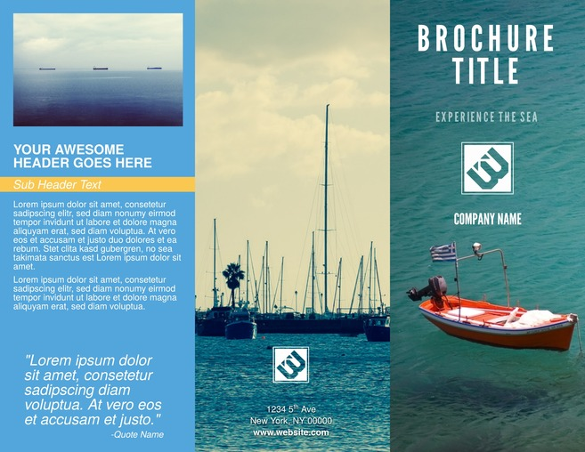Free Brochure Templates  Examples 20+ Free Templates