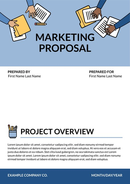 Free Business Proposal Templates and Examples Lucidpress