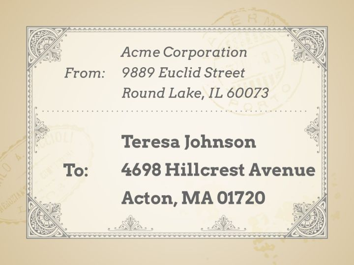 Mailing  Shipping Label Templates  Examples Lucidpress - Free Address Label Templates