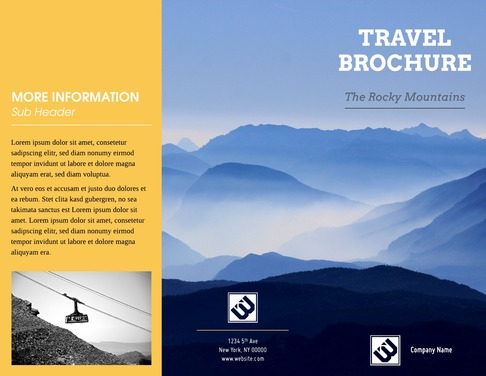 Free Brochure Maker - Create Custom Brochures Lucidpress