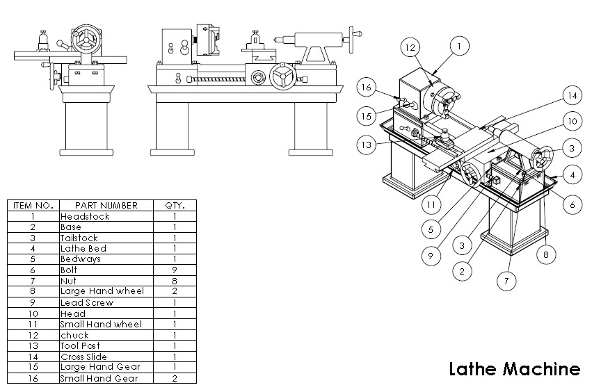 lathe 2 d diagram book tutorial