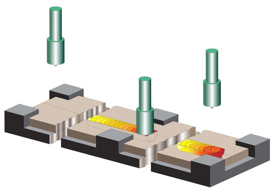 Friction Stir Welding Setup 3D CAD Model Library GrabCAD