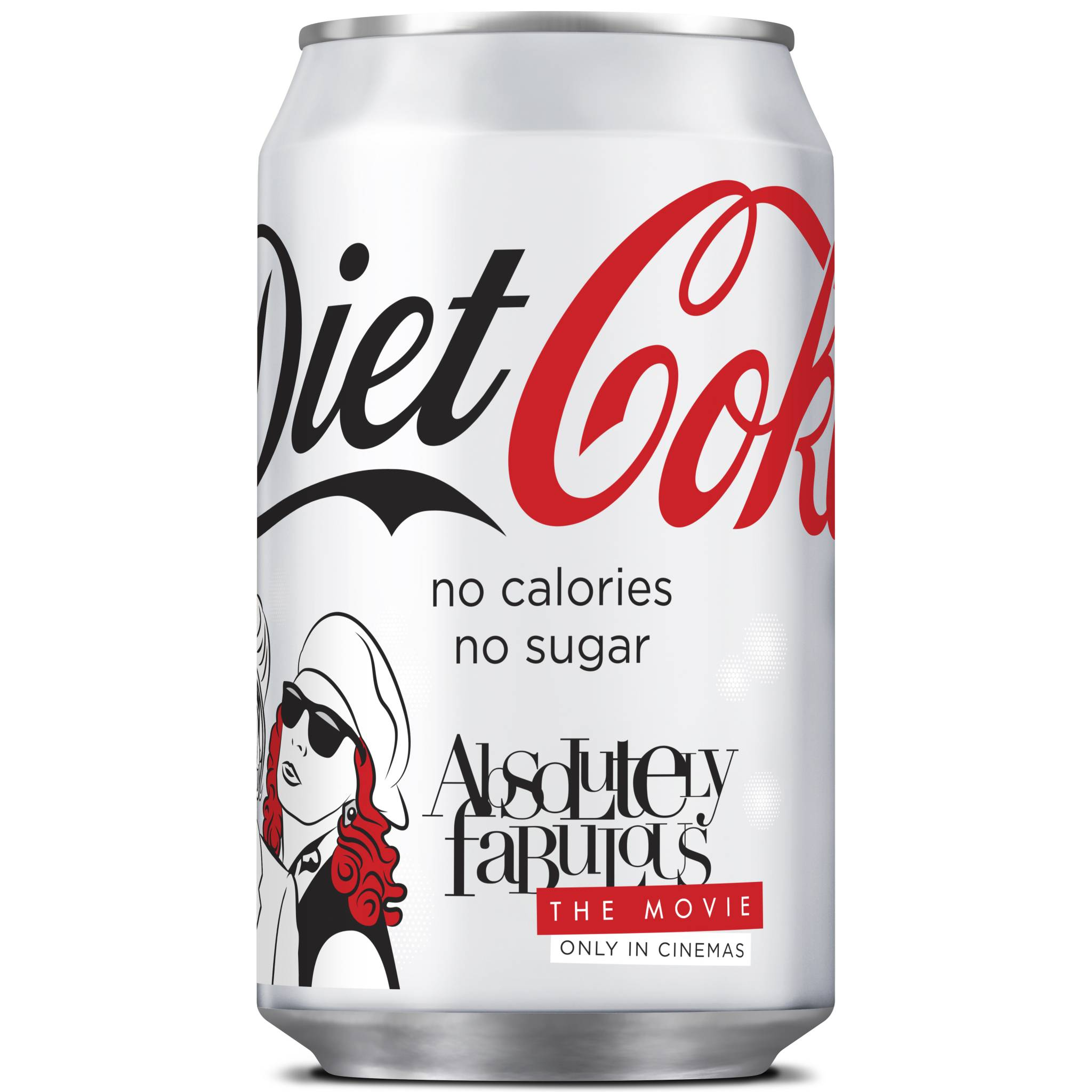 Diet Coke Diet Coke Partners With Absolutely Fabulous The Movie