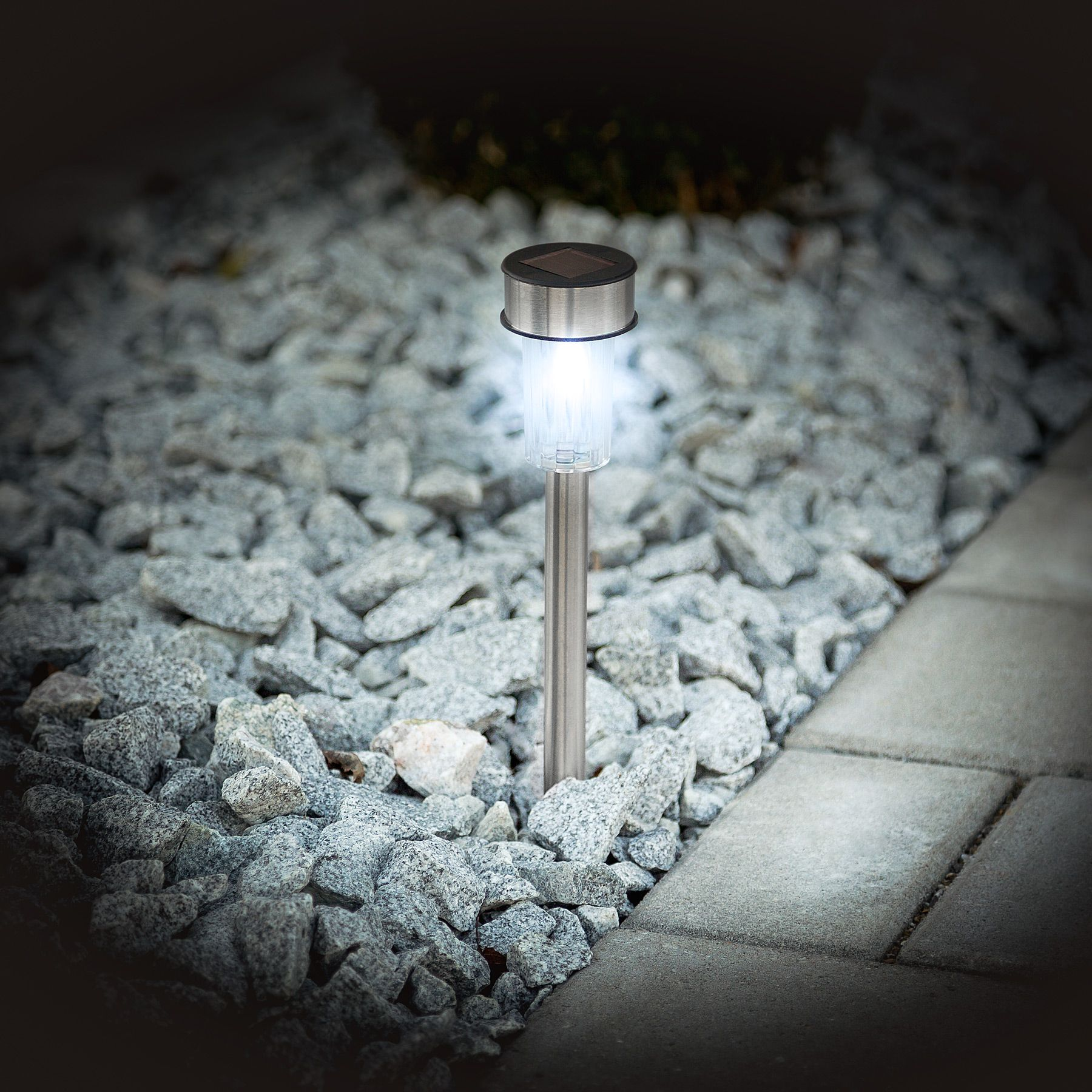 Tuinlampen Op Zonne Energie 8x Led Solar Tuinverlichting Lamp Tuinlamp Op Spies Zonne