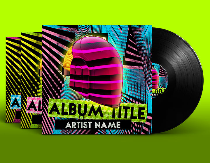House Album Cover PSD Template - Download - Graphicfy