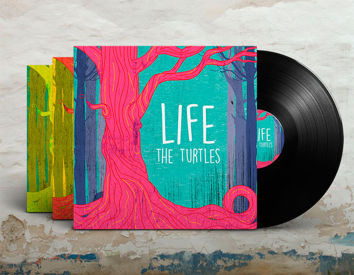 Indie Album Cover Template PSD - Graphicfy