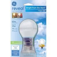 GE 15 Watt Reveal Soft White CFL Light Bulb