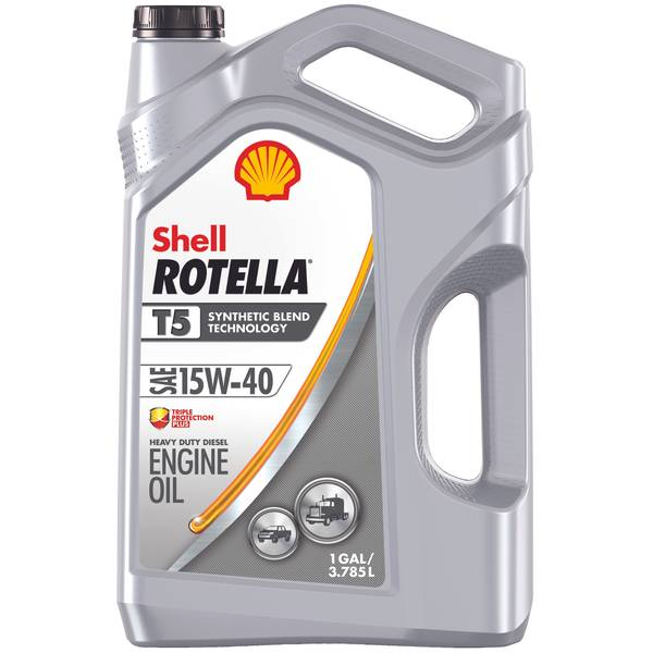 15w40 Olie Shell Rotella T5 Synthetic Blend 15w40 Engine Oil