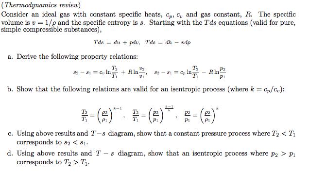 cv thermodynamics